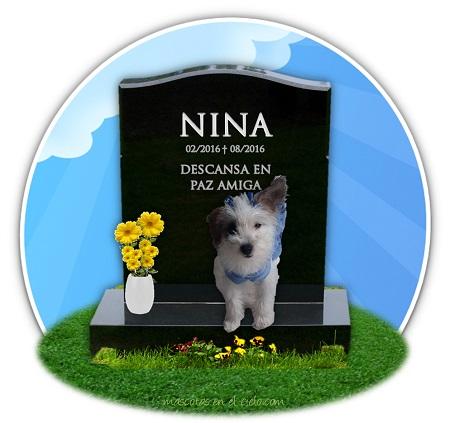 cementerio de mascotas online- recuerdo de nina