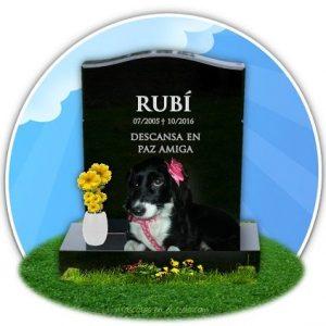 Rubí en Cementerio de Mascotas Virtual