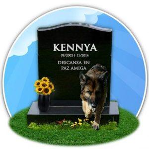 kennya en cementerio virtual de mascotas