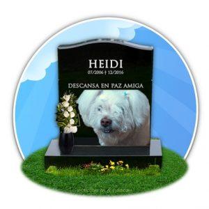 cementerio online de mascotas- recuerdo a heidi